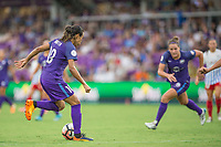 Orlando, FL - Saturday July 01, 2017: Marta during a regular season National Women's Soccer League (NWSL) match between the Orlando Pride and the Chicago Red Stars at Orlando City Stadium.