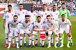 Team Qatar squad lines up for photo prior to the AFC Asian Cup UAE 2019 Quarter Finals match between Qatar (QAT) and South Korea (KOR) at Zayed Sports City Stadium  on 25 January 2019 in Abu Dhabi, United Arab Emirates. Photo by Marcio Rodrigo Machado / Power Sport Images