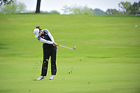 Giulia Molinaro (ITA) hits her approach shot on 9 during round 2 of  the Volunteers of America Texas Shootout Presented by JTBC, at the Las Colinas Country Club in Irving, Texas, USA. 4/28/2017.<br /> Picture: Golffile | Ken Murray<br /> <br /> <br /> All photo usage must carry mandatory copyright credit (&copy; Golffile | Ken Murray)