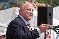 Bob Crow, Durham Miners Gala (Jul 2013)