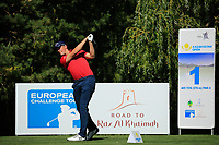 Ben Stow (ENG) during the final round of the Kazakhstan Open presented by ERG played at Zhailjau Golf Resort, Almaty, Kazakhstan. 16/09/2018<br /> Picture: Golffile | Phil Inglis<br /> <br /> All photo usage must carry mandatory copyright credit (&copy; Golffile | Phil Inglis)