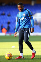 Preston North End's Darnell Fisher during the pre-match warm-up <br /> <br /> Photographer David Shipman/CameraSport<br /> <br /> The EFL Sky Bet Championship - Ipswich Town v Preston North End - Saturday 3rd November 2018 - Portman Road - Ipswich<br /> <br /> World Copyright &copy; 2018 CameraSport. All rights reserved. 43 Linden Ave. Countesthorpe. Leicester. England. LE8 5PG - Tel: +44 (0) 116 277 4147 - admin@camerasport.com - www.camerasport.com