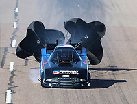 Feb 23, 2019; Chandler, AZ, USA; NHRA funny car driver Blake Alexander during qualifying for the Arizona Nationals at Wild Horse Pass Motorsports Park. Mandatory Credit: Mark J. Rebilas-USA TODAY Sports