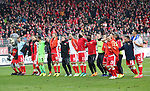 01.12.2018, Stadion an der Wuhlheide, Berlin, GER, 2.FBL, 1.FC UNION BERLIN  VS.SV Darmstadt 98, <br /> DFL  regulations prohibit any use of photographs as image sequences and/or quasi-video<br /> im Bild Union-Spieler<br /> <br /> <br />      <br /> Foto &copy; nordphoto / Engler