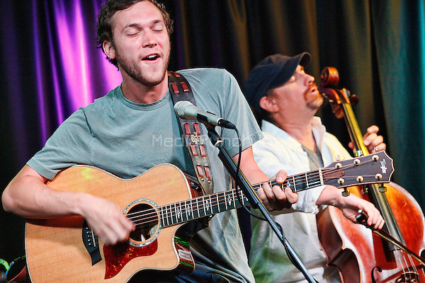 BALA CYNWYD PA - JULY 18 :  Phillip Phillips visits MIX 106.1 performance studio in Bala Cynwyd, Pa on July 18, 2014  photo credit Star Shooter / MediaPunch