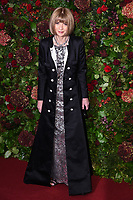 Dame Anna Wintour<br /> arriving for the Evening Standard Theatre Awards 2019, London.<br /> <br /> ©Ash Knotek  D3539 24/11/2019