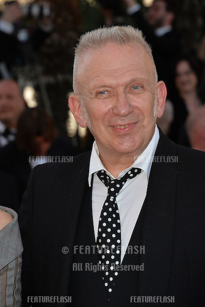 Designer Jean Paul Gaultier at the gala premiere of &quot;From the Land of the Moon&quot; (&quot;Mal de Pierres&quot;) at the 69th Festival de Cannes.<br /> May 15, 2016  Cannes, France<br /> Picture: Paul Smith / Featureflash