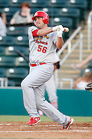 July 13, 2009:  Designated Hitter Troy Glaus of the Palm Beach Cardinals during a rehab assignment game at Hammond Stadium in Ft. Myers, FL.  Palm Beach is the Florida State League High-A affiliate of the St. Louis Cardinals.  Photo By Mike Janes/Four Seam Images