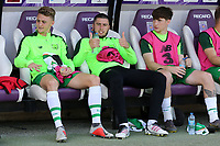 A thumbs up from Canice Carroll of Brentford and Republic of Ireland who was named as a substitute during Republic Of Ireland Under-21 vs Mexico Under-21, Tournoi Maurice Revello Football at Stade Parsemain on 6th June 2019