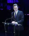 """Bryan Cranston during the Roundabout Theatre Company's 2017 Spring Gala """"Act ii: Setting the Stage for Roundabout's Future""""  presentation honoring Frank Langella and Leonard Tow at the Waldorf Astoria Hotel on February 27, 2017 in New York City."""