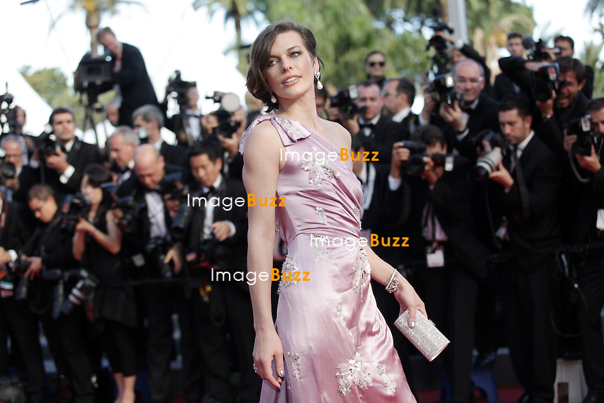 """Milla Jovovich - """" On The Road """" Premiere at the 65th Cannes Film Festival at the Palais des Festival..May 23rd, 2012."""
