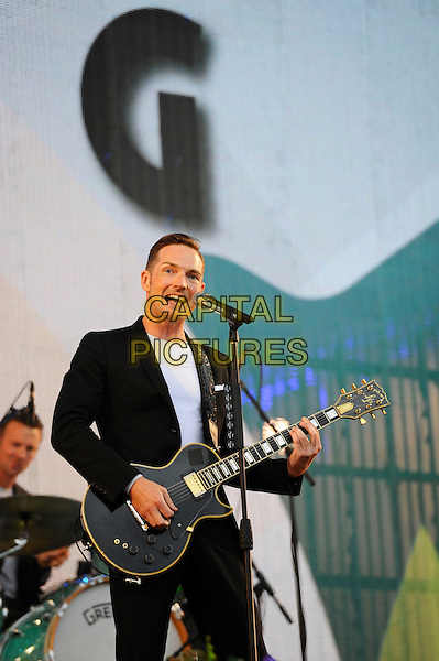 LONDON, ENGLAND - SEPTEMBER 10: Dan Gillespie Sells of 'The Feeling' performing at BBC Proms In The Park, Hyde Park on September 10, 2016 in London, England.<br /> CAP/MAR<br /> &copy;MAR/Capital Pictures
