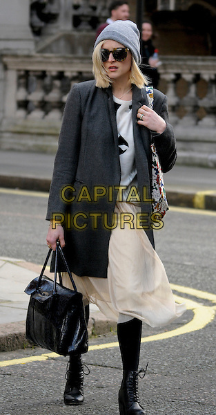 LONDON , UK - FEBRUARY 26 - Fearne Cotton leaving BBC Radio1 London, England 26th February 2014. <br /> CAP/IA<br /> &copy;Ian Allis/Capital Pictures