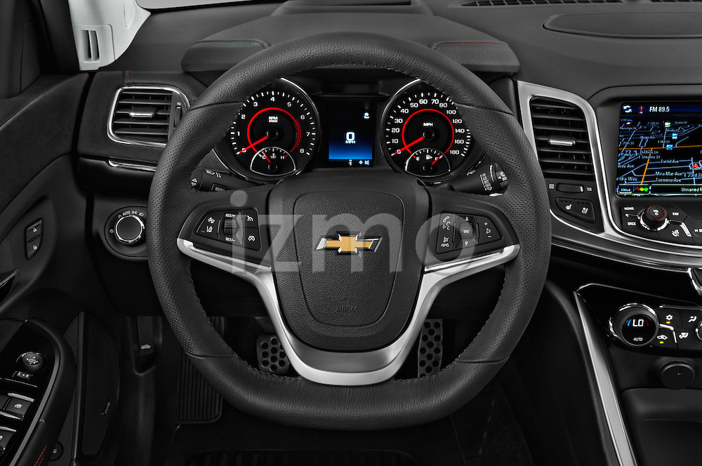 Car pictures of steering wheel view of a 2016 Chevrolet SS 6.2 4 Door Sedan Steering Wheel