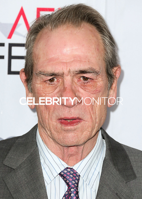 HOLLYWOOD, LOS ANGELES, CA, USA - NOVEMBER 11: Tommy Lee Jones arrives at the AFI FEST 2014 - 'The Homesman' Gala Screening held at the Dolby Theatre on November 11, 2014 in Hollywood, Los Angeles, California, United States. (Photo by Xavier Collin/Celebrity Monitor)