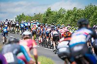 Picture by Allan McKenzie/SWpix.com - 16/07/17 - Cycling - HSBC UK British Cycling Grand Prix Series - Velo29 Altura Stockton Grand Prix - Stockton, England - The peloton goes through the countryside near Stockton.