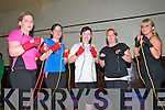 "Rumble in Listowel :Liz Lanigan, Nicole Heffernan, Yvonne O'Sullivan, Sarah Breen & Jacki Cooney-Wall , Listowel in practice for the forthcoming ""Rumble in Listowel"" white collar charity boxing event to take place in Listowel on the 16th November..."