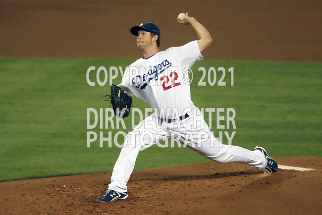 October 3, 2009: Clayton Kershaw #22 of the Los Angeles Dodgers pitches  against the Colorado Rockies in the third inning at Dodger Stadium in Los Angeles.