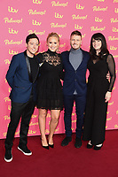 LONDON, UK. November 12, 2019: Ash Palmaciano, Amy Walsh, Matthew Wolfenden and Laura Norton arriving for the ITV Palooza at the Royal Festival Hall, London.<br /> Picture: Steve Vas/Featureflash