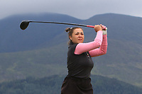 Natalia Heckova (Slovakia) on the 2nd tee during Round 1 of the Women's Amateur Championship at Royal County Down Golf Club in Newcastle Co. Down on Tuesday 11th June 2019.<br /> Picture:  Thos Caffrey / www.golffile.ie<br /> <br /> All photos usage must carry mandatory copyright credit (© Golffile | Thos Caffrey)