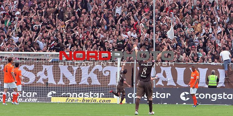 2.Liga FBL 2008/2009  31.Spieltag R&uuml;ckrunde<br /> FC St.Pauli vs. FSV Mainz 05 2:0<br /> <br /> <br /> 2:0 durch Alexander Ludwig (Nr.18)<br /> <br /> <br /> Foto &copy; nph (nordphoto)<br /> <br /> *** Local Caption ***