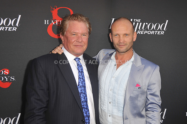 WWW.ACEPIXS.COM . . . . .  ....May 21 2012, LA....Tom Berenger and Andrew Howard at a special screening of 'Hatfields & McCoys' hosted by The History Channel at Milk Studios on May 21, 2012 in Hollywood, California. ....Please byline: PETER WEST - ACE PICTURES.... *** ***..Ace Pictures, Inc:  ..Philip Vaughan (212) 243-8787 or (646) 769 0430..e-mail: info@acepixs.com..web: http://www.acepixs.com