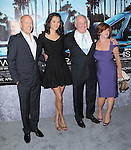 Jerry Weintraub,Susan Ekins,Bruce Willis and Emma Heming attends The HBO Premiere of HIS WAY Documentary held at Paramount Theater in Los Angeles, California on March 22,2011                                                                               © 2010 DVS / Hollywood Press Agency