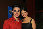 """One Life To Live's Robert Gorrie """"Matthew Buchanan"""" and ATWT """"Nate"""" poses with his girlfriend Sabrina at after party at New York Premiere Event for beloved series """"One Life To Live"""" on April 23, 2013 at NYU Skirball, New York City, New York - as The Online Network (TOLN) - OLTL - AMC begin airing on April 29, 2013 on Hulu and Hulu Plus.  (Photo by Sue Coflin/Max Photos)"""
