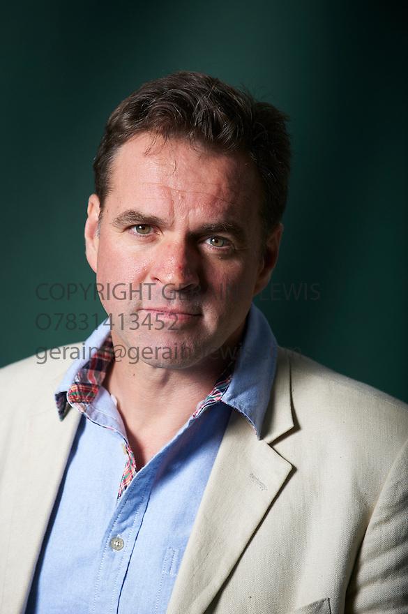 Niall Ferguson ,Scottish Historian and Broadcaster.at The Edinburgh International Book Festival 2011.  Credit Geraint Lewis