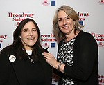 Dori Bernstein and Laura Penn attends The Broadway League and the Coalition of Broadway Unions and Guilds (COBUG) presents the 9th Annual Broadway Salutes at Sardi's on November , 2017 in New York City.