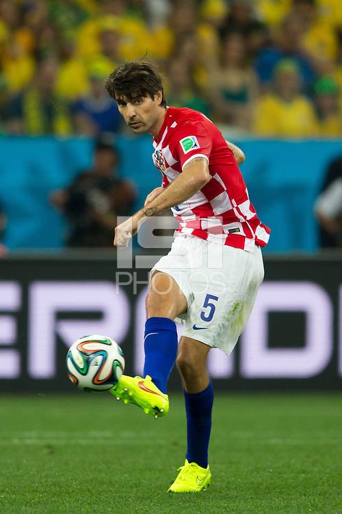 Vedran Corluka of Croatia
