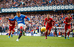 28.09.2018 Rangers v Aberdeen: James Tavernier scores from the penalty spot