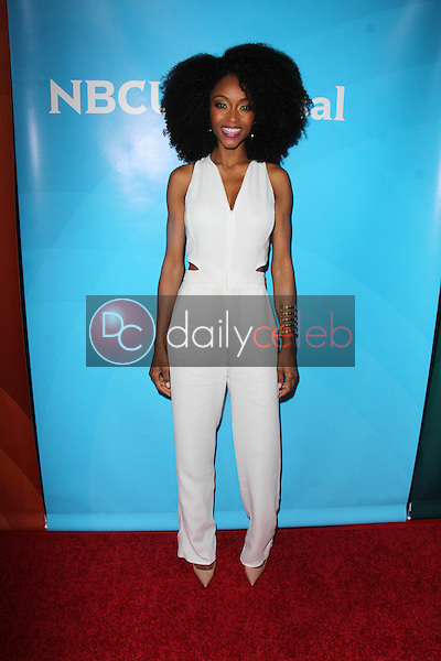 Yaya DaCosta<br /> at the NBCUniversal Press Tour Day 2, Beverly Hilton, Beverly Hills, CA 08-13-15<br /> David Edwards/DailyCeleb.com 818-249-4998
