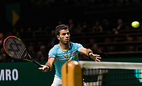 Rotterdam, The Netherlands, 17 Februari 2019, ABNAMRO World Tennis Tournament, Ahoy, Jean-Julien Rojer (NED),<br /> Photo: www.tennisimages.com/Henk Koster
