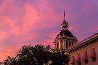 TALLAHASSEE, FLA. 7/13/15-Florida&rsquo;s Historic Capitol building at sunset.<br />