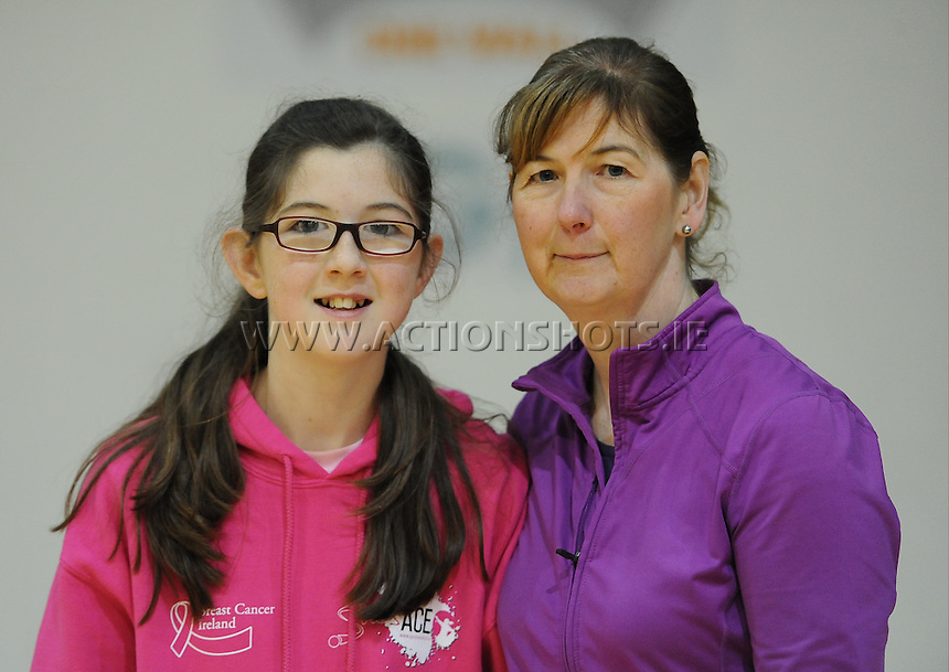 17th November 2013; Maire ane Lucy Fleming. She's Ace - Women in handball event, Breaffy House Sports Arena, Castlebar, Co Mayo. Picture credit: Tommy Grealy/actionshots.ie.