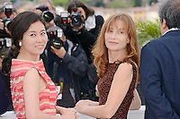 "Moon Sori and Isabelle Huppert attending the ""Da-reun Na-ra-e-suh (In Another Country)"" Photocall during the 65th annual International Cannes Film Festival in Cannes, France, 21th May 2012...Credit: Timm/face to face / Mediapunchinc"
