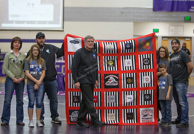 A photograph from the NIAA Division I Northern Region Wrestling Championships held at Spanish Springs High School on Saturday, Feb. 13, 2016.