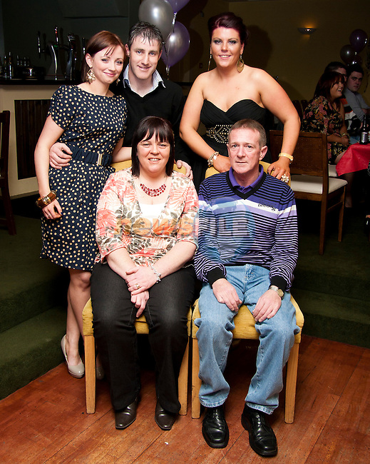 Evelyn Clarke celebrates her 50th birthday with family and friends in The Star And Crescent..Photo: Shane Maguire/Newsfile.ie