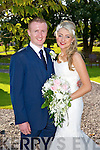Jenna O'Shea, Beaufort, daughter of John and Eileen O'Shea, and Andrew Moriarty, Milltown, son of Pat and Maureen Moriarty were married at St. James Church Killorglin by Fr. Fleming on Saturday 13th September with a reception at Ballygarry House Hotel
