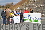 RÁS: Launching the 2014 Kerry Group Rás Mumhan in Currans Village on Thursday,was Frank hayes Kerry Group with the help of some cyclist, Micheál O'Shea Daniel Cl;ifford (Killorglin), Tadgh Moriarty (press offr), Rory McGillycuddy Mary Concannon (Ras Sec),Aoife O'Brien (Kerry Group) and Micheál Coleman.