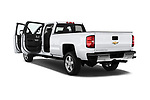 Car images close up view of a 2018 Chevrolet Silverado 2500 LT Crew Cab 4 Door Pick Up doors