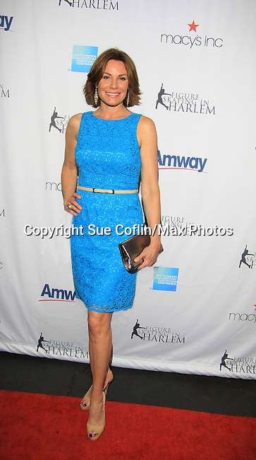 LuAnn de Lesseps Real Housewife of New York attends The 2013 Skating with the Stars- a benefit gala for Figure Skating in Harlem on April 8, 2013 at Trump Wollman Rink, New York City, New York. (Photo by Sue Coflin/Max Photos)