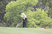 Patrick Reed (USA) on the 2nd during the 1st round at the WGC Dell Technologies Matchplay championship, Austin Country Club, Austin, Texas, USA. 22/03/2017.<br /> Picture: Golffile | Fran Caffrey<br /> <br /> <br /> All photo usage must carry mandatory copyright credit (&copy; Golffile | Fran Caffrey)