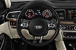 Car pictures of steering wheel view of a 2017 KIA Cadenza Premium 4 Door Sedan Steering Wheel