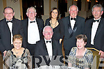 Members of the Irish Furnishing Trades Benevolent Association Kerry Committee enjoying their Annual Ball in The Ballygarry House Hotel on Saturday night were seated l/r Mary Murphy, Peter & Marie Murphy, all Currow, standing l/r Michael Murphy, Currow, Jim Wrenn, Churchill, Kay Gill, Listellick, Jim Tansley, Oakpark and P.J. Hayes, Tonevane..   Copyright Kerry's Eye 2008