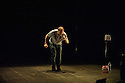 Simon McBurney performs in THE ENCOUNTER, a Complicite production in association with Barbican, Edinburgh International Festival, Onassis Cultural Centre - Athens, Schaubuhne Berlin, Theatre Vidy Lausanne and Warwick Arts Centre.