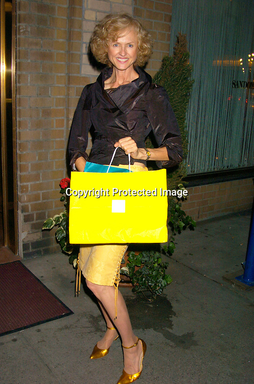 Jill Larson ..at a Party for Susan Lucci to announce her Star on the Hollywood Walk of Fame on September 23, 2004 ..at San Domenico Restaurant . ..Photo by Robin Platzer, Twin Images