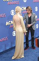 15 April 2018 - Las Vegas, NV -  Nicole Kidman, Keith Urban.  2018 ACM Awards arrivals at MGM Grand Garden Arena. <br /> CAP/ADM/MJT<br /> &copy; MJT/ADM/Capital Pictures