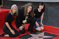 LOS ANGELES, CA. August 27, 2018: Weird Al Yankovic, Suzanne Krajewski Yankovic & Nina Yankovic at the Hollywood Walk of Fame Star Ceremony honoring 'Weird Al' Yankovic.LOS ANGELES, CA. August 27, 2018: Weird Al Yankovic, Suzanne Yankovic & Nina Yankovic at the Hollywood Walk of Fame Star Ceremony honoring 'Weird Al' Yankovic.